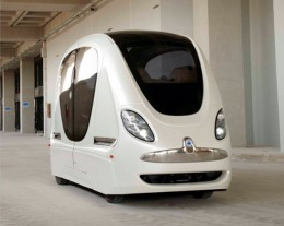 Personal Rapid Transit vehicle in Masdar, Abu Dhabi
